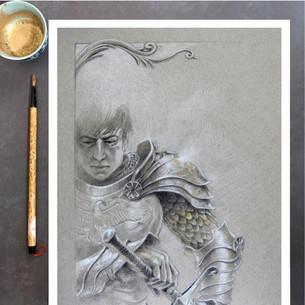 Torrin: Character Art Print