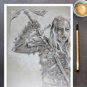 Rowan: Character Art Print