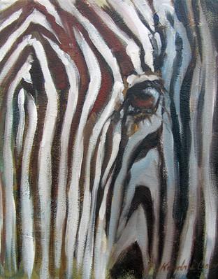 Zebra Eye IV (SOLD)