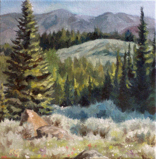 High Elevation Sage (SOLD)