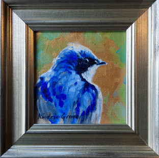 Golden Creatures: Tree Swallow (SOLD)