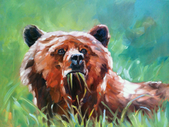 Grizz in the Green
