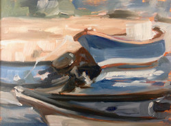 Boats in Meze (SOLD)