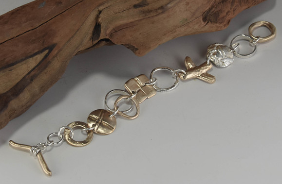 Melange Bracelet / $325