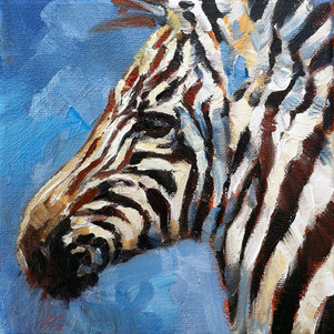 Zebra Foal (SOLD) Prints Available