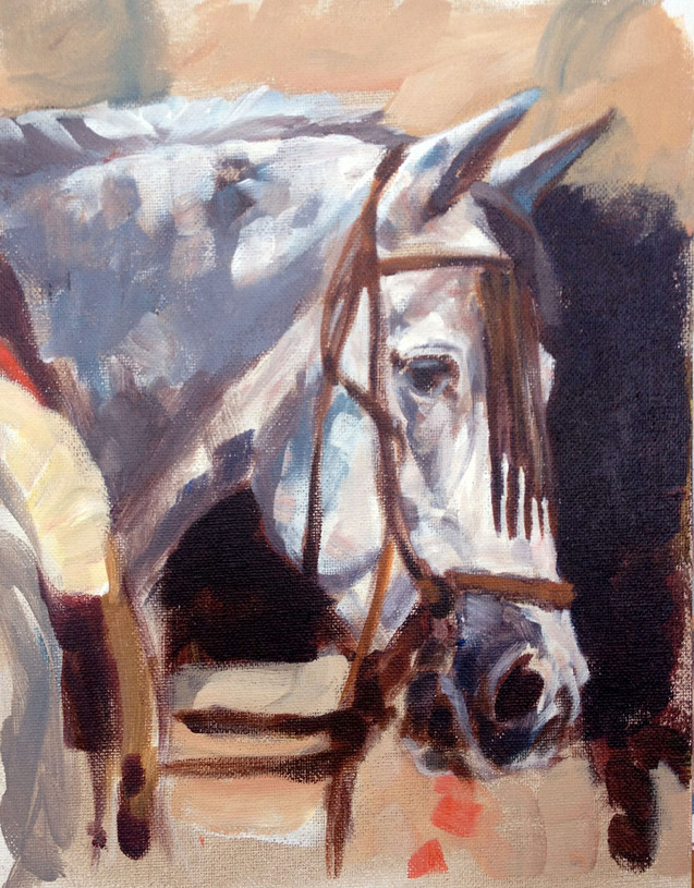 At the Feria (SOLD)