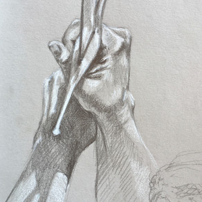 Studies of Hands And Sword Hilts