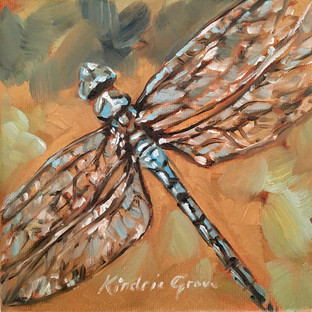 Dragonfly: Golden Creatures (SOLD)