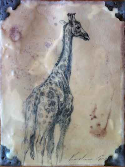 Walking Giraffe (SOLD)