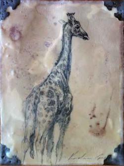 Walking Giraffe (SOLD)