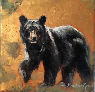 Golden Creatures: Little Walking Bear (SOLD)