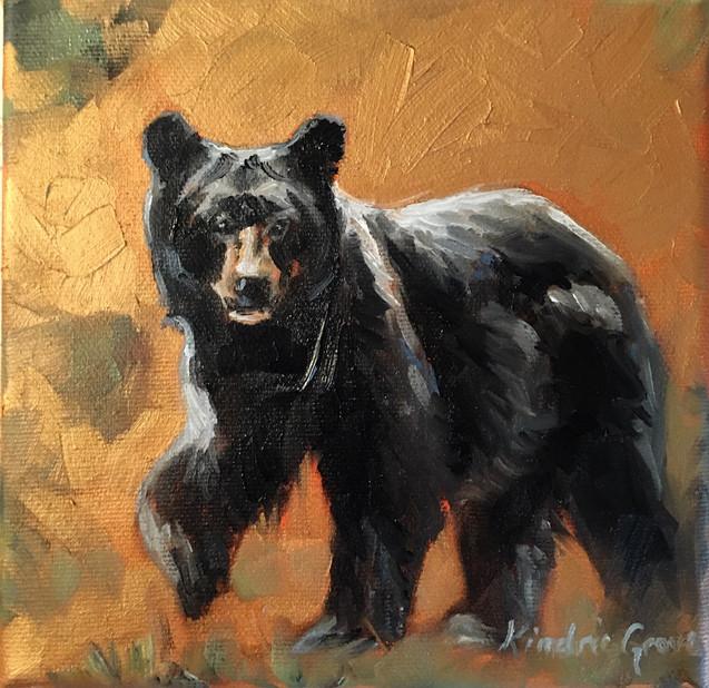 Golden Creatures: Little Walking Bear (SOLD)