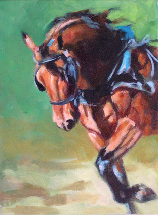 Morgan in Harness II (SOLD)