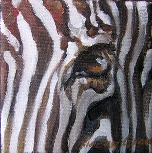 Zebra Eye III (SOLD)