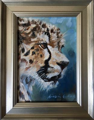 Cheetah Portrait (SOLD)
