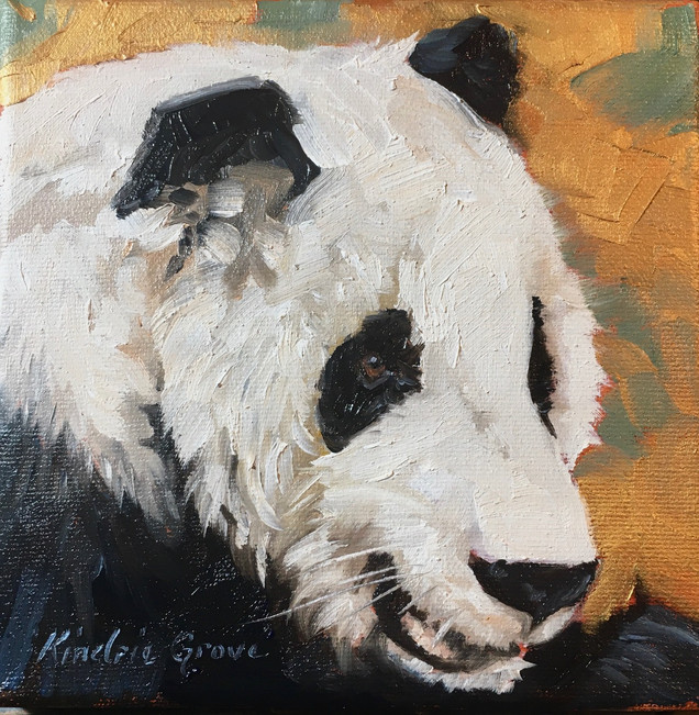 Golden Creatures: Black and White (SOLD)