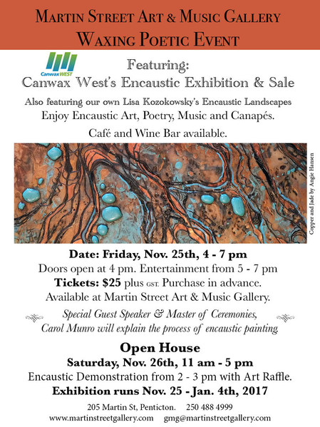 Waxing Poetic Exhibition and Event