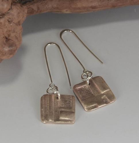 Mosaic Earrings / $100