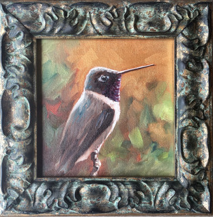 Golden Creatures: Black-chinned I (SOLD)