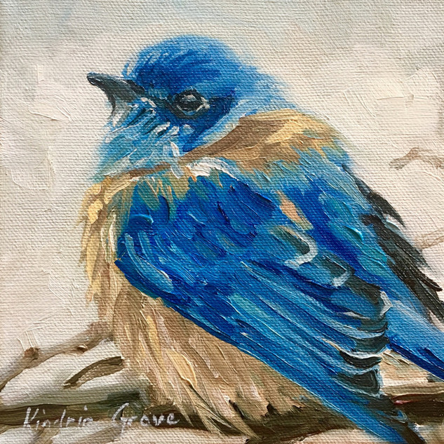 Winter Blue (SOLD)
