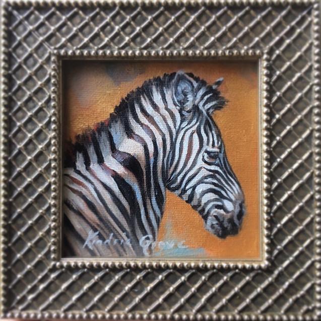 Golden Creatures: Zebra Mare (SOLD)