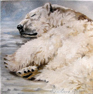 Snow Snooze (SOLD)