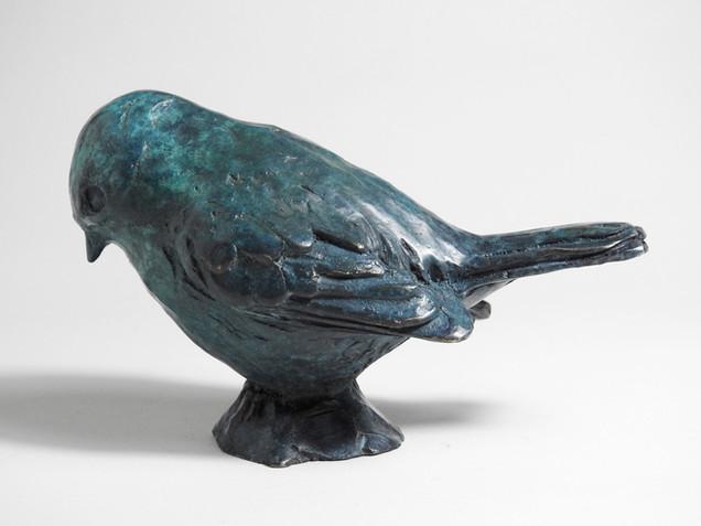 Chickadee I, Feeder (Christmas) Birds