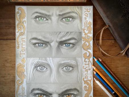 Character Gazes: Rowan, Torrin Tyria and Lanfear.