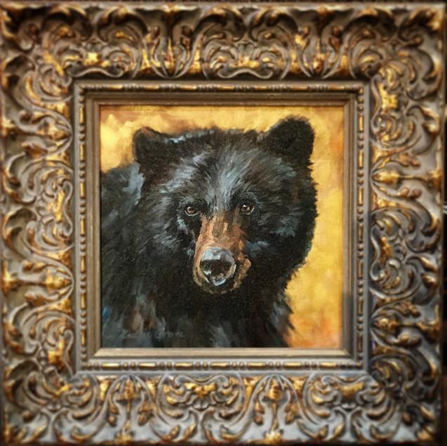 Golden Creatures: Black Bear  (SOLD)