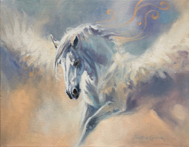 Luminous Creatures: Pegasus (SOLD)