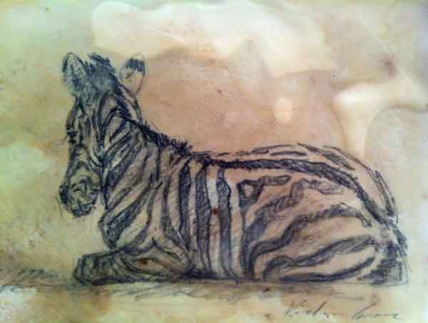 Zebra Foal (SOLD)