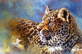 Sun Spots: Leopard (SOLD)