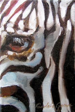 Zebra Eye II (SOLD)