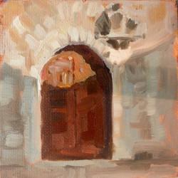 Medieval Door I (SOLD)