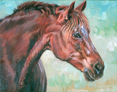 Horse commission by Kindrie Grove