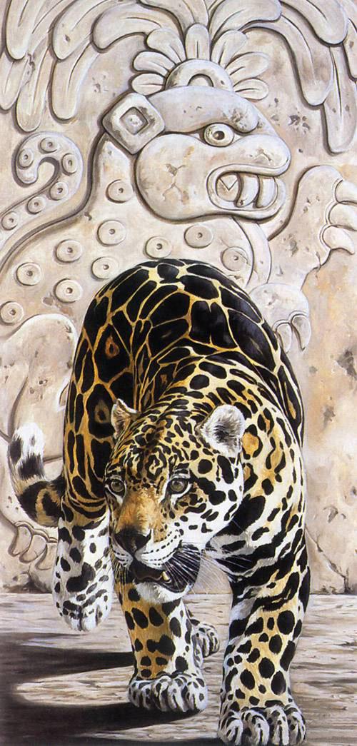 Ancient Tableau: Jaguar