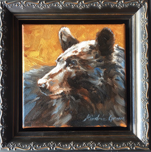 Golden Creatures: Young Black Bear I (SOLD)