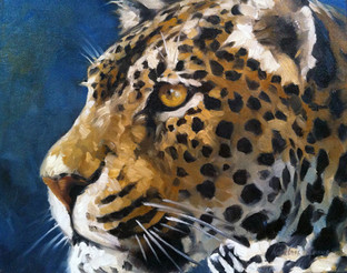 Blue Leopard (SOLD)