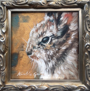 Golden Creatures: Baby Bunny (SOLD)