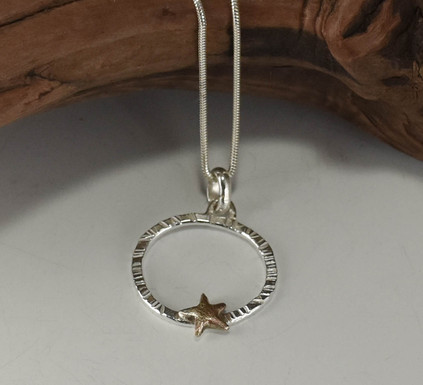 Mini Star Pendant / $140