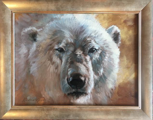 Golden Creatures: Ice Bear (SOLD)