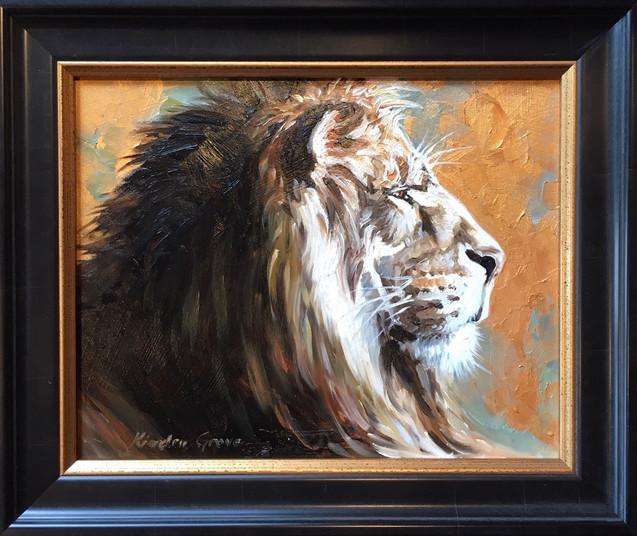 Golden Creatures: Savanna Prince II (SOLD)
