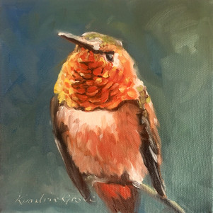 Rufous Jewel (SOLD) Prints Available
