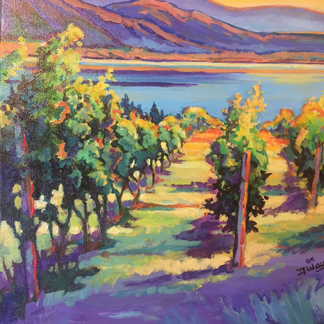 Dusk on the Vines