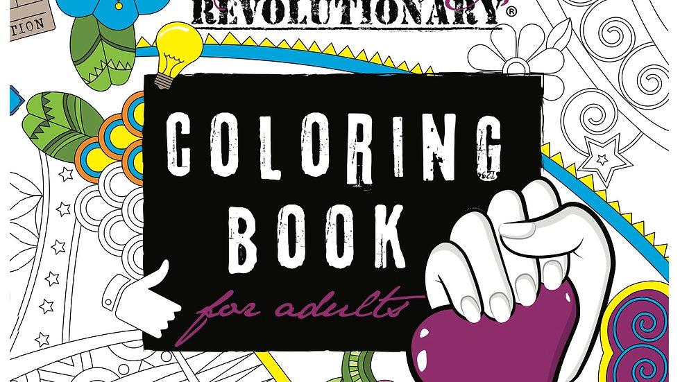 Evolutionary Revolutionary Adult Coloring Book