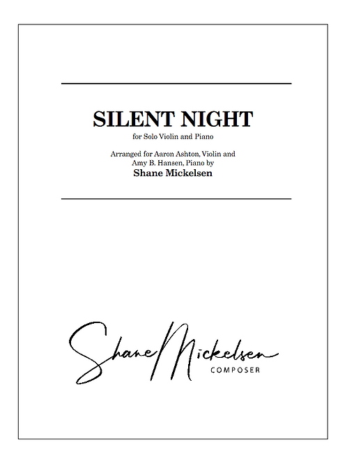Violin Solo - Silent Night