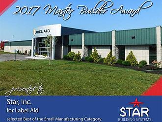 2017 Master Builder Award