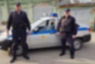 прапорщик полиции Сергей Важенко и старш