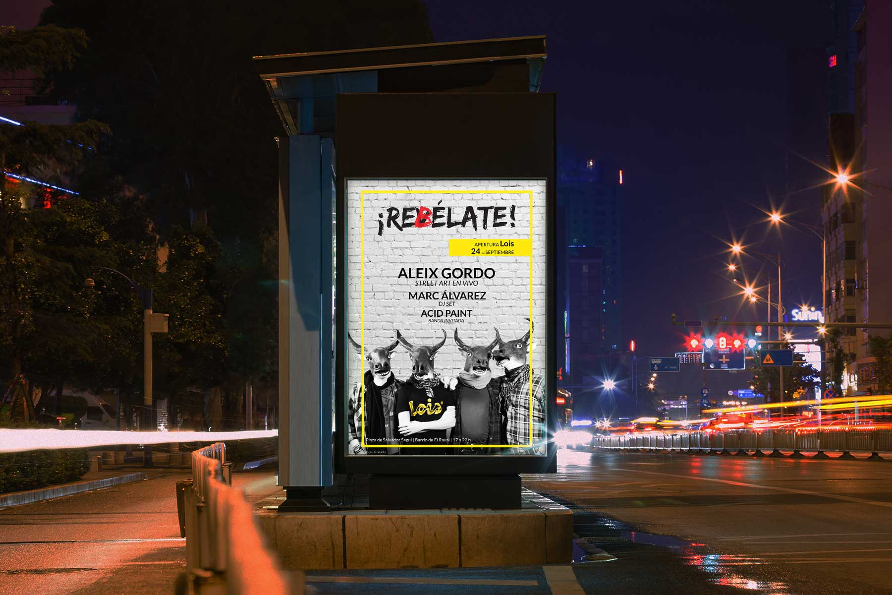 Street Posters (after revelation)