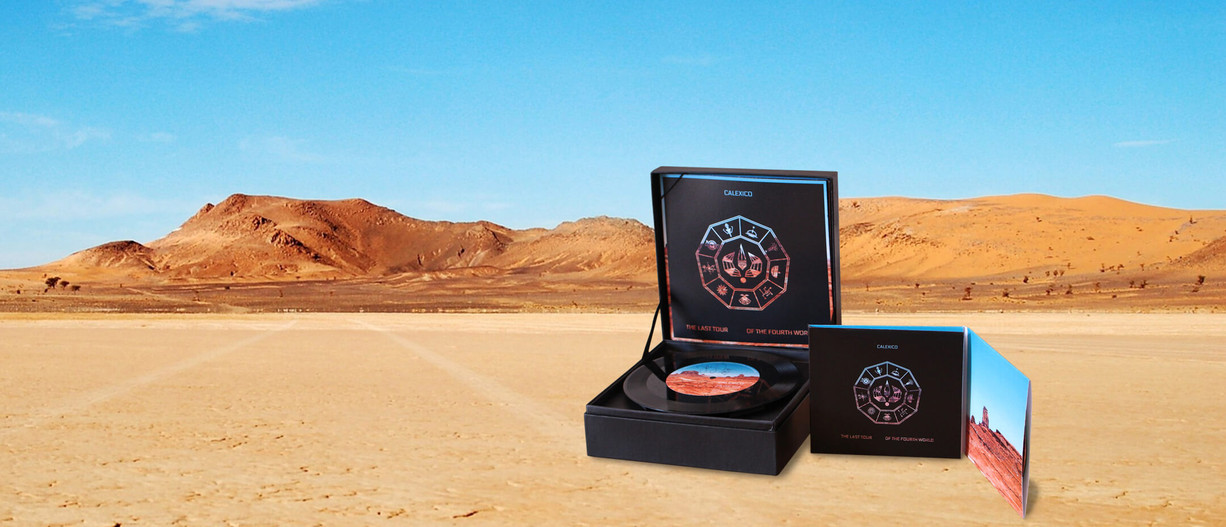 Collector's edition (contains LP, CD, Blu-ray, puzzle and edition book from the tour)
